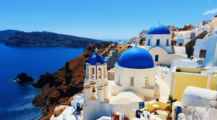 Small Traditional Village Oia in Greece - Pound Travels